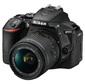 "Фотоаппарат Nikon D5600 Black KIT 18-55 P VR 24.1Mp,  3.2"" WiFi,  GPS"