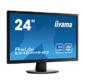 "Монитор жидкокристаллический Iiyama E2483HS-B3 LCD 24"" 16:9 1920х1080 TN,  nonGLARE,  250cd / m2,  H170° / V160°,  1000:1,  80M:1,  16, 7M Color,  1ms,  VGA,  HDMI,  DP,  Tilt,  Speakers,  3Y,  Black"