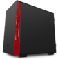 NZXT CA-H210I-BR H210i Mini ITX Black / Red Chassis with Smart Device 2,  2x120mm Aer F Case Fans,  1xLED Strip