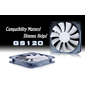 Вентилятор для корпуса Deepcool GS 120 120x120x20 4pin 18-35dB 100g antivibration low-noise RTL