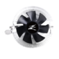 ZALMAN CNPS80G Rev.1,  85mm FAN,  AL,  4-PIN PWM,  1000-2000 RPM,  25.3DBA,  LONG LIFE BEARING,  LGA 115X / 775,  AM4 / AM3+ / AM3