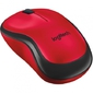 Logitech Wireless Mouse M220 SILENT,  2.4GHz,  Red