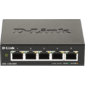 D-Link DGS-1100-05V2 / A1A,  L2 Smart Switch with 5 10 / 100 / 1000Base-T ports.8K Mac address,  802.3x Flow Control,  Port Trunking,  Port Mirroring,  IGMP Snooping,  32 of 802.1Q VLAN,  VID range 1-4094,  Loopba