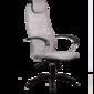 Кресло Metta BP-8 Plпятилучие пластик 24-Светло-серый,  90кг