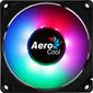 Вентилятор Aerocool Frost 8 80x80mm 3-pin 4-pin (Molex)28dB 90gr LED Ret