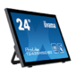 "Iiyama LCD 23.6"" [16:9] 1920х1080 VA,  GLARE,  TOUCH,  250cd / m2,  H178° / V178°,  3000:1,  12М:1,  16, 7M Color,  6ms,  DVI,  HDMI,  DP,  USB-Hub,  Tilt,  Speakers,  Webcam,  3Y,  Black"