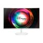 """Монитор Samsung 27"""" C27H711QEI белый VA LED 16:9 HDMI M / M матовая 300cd 178гр / 178гр 2560x1440 DisplayPort QHD 5.3кг"""