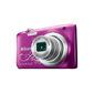 Фотоаппарат цифровой Nikon A100 фиолетовый с рисунком,  20Mpx CCD,  zoom 5x,  HD720,  экран 2.6'',  Li-ion