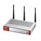 ZYXEL USG20W-VPN-RU0101F Беспроводной межсетевой экран USG20W-VPN,  2xWAN GE  (RJ-45 и SPF),  4xLAN / DMZ GE,  802.11a / b / g / n / ac  (2, 4 и 5 ГГц),  USB3.0