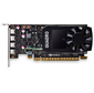 VGA PNY NVIDIA Quadro P1000,  4 GB GDDR5 / 128-bit,  PCI Express 3.0 x16,  DP 1.4x4,  Low Profile
