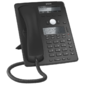 SNOM Global 745 Desk Telephone Black