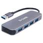 D-Link DUB-1340 / D1A Концентратор с 4 портами USB 3.0  (1 порт с поддержкой режима быстрой зарядки)