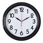 Часы настенные аналоговые Бюрократ WALLC-R86P D35см черный / белый