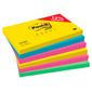 Блок самоклеящийся бумажный 3M Post-it Радуга Плюс 655-RNBW 7100142131 76x127мм 600лист. 4цв.в упак.  (упак.:6шт)