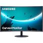 "Монитор Samsung 31.5"" C32T550FDI темно-серый VA LED 16:9 HDMI глянцевая 3000:1 250cd 178гр / 178гр 1920x1080 D-Sub DisplayPort FHD 5.9кг"