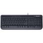 Microsoft Wired 600,  104+5кн.,  черный  (USB)  (ret)