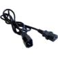 Кабель Lanmaster LAN-PPM-10A-1.0 IEC C13 IEC C14 1м черный