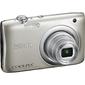 "Фотоаппарат цифровой Nikon A100 серебристый,  20Mpx CCD,  zoom 5x,  HD720,  экран 2.6"",  Li-ion"