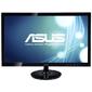 "ASUS VS248HR 24"" Wide LED monitor,  16:9,  Full HD 1920x1080,  1ms (GTG),  250 cd / m2,  50 M :1,  170° (H),  160° (V),  D-Sub,  DVI-D,  HDMI 1.3,  slim design,  Kensington Lock,  VESA 100x100 mm,  Energy Star®,  black"