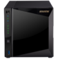 ASUSTOR AS4004T 4-Bay NAS / CPU  (2Core) / 2Gb / noHDD, LFF (HDD, SSD) / 1x1GbE (LAN) / 2xUSB3.1 ; 90IX0161-BW3S10