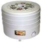 Сушка для фруктов и овощей Ротор Дива СШ-007 3под. 520Вт белый