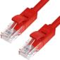 Greenconnect Патч-корд прямой,  малодымный LSZH 0.5m UTP кат.5e,  красный,  24 AWG,  литой,  ethernet high speed 1 Гбит / с,  RJ45,  T568B,  GCR-50689 (GCR-50689)
