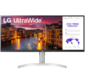 Монитор жидкокристаллический LG Монитор LCD 34'' [21:9] 2560х1080 (UW-UXGA) IPS,  nonGLARE,  400cd / m2,  H178° / V178°,  1000:1,  16.7M,  5ms,  2xHDMI,  DP,  Height adj,  Tilt,  Speakers,  Audio out,  2Y,  White