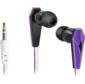 Наушники стерео Trendy-705 для MP3,  сиренев&черный,  1, 1 м