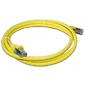 Патч-корд LANMASTER LSZH FTP кат.6,  3.0 м,  желтый