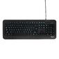 Клавиатура Gembird KB-230L черный USB {104 клавиши,  подсветка 3 цвета,  кабель 1.45м}