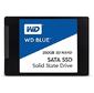 """Western Digital WDS250G2B0A SSD,  Blue,  2.5"""",  SATA III,  250Gb,  R / W - 550 / 525 MB / s,  3D NAND"""