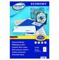 Этикетки Europe100 ELA026-100 ELA026 A4 210x148.5мм 2шт на листе / 70г / м2 / 100л. / белый матовое самоклей. универсальная