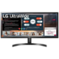 "LG 34"" 34WL50S-B IPS LED, 2560x1080, 5ms, 300cd/m2, Mega DCR, 178°/178°, 2*HDMI, HDR10, 75Hz, колонки, AMD FreeSync, Tilt, VESA, Black"