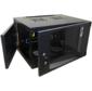 Шкаф настенный Lanmaster Next TWT-CBWNG-9U-6X6-BK 9U 550x600мм пер.дв.стекл съемные бок.пан. 60кг черный
