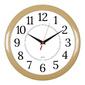 Часы настенные аналоговые Бюрократ WALLC-R88P D29см бежевый / белый
