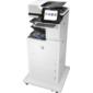Лазерное многофункциональное устройство HP Color LaserJet Enterprise Flow M682z MFP  (p / c / s / f, A4, 600dpi, 56 (56)ppm, 1, 5Gb, HDD320enc, 4trays100+2x550+2000, ADF150, Duplex, stand, stepler, USB / GigEth / Wi-Fi, 1ywarr, Cart.B12, 5&CMY10, 5Kpages, repl. CZ250A)