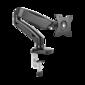 Кронштейн для мониторов ONKRON /  13-27'' ГАЗЛИФТ макс 100*100 наклон -45? / +90?,  поворот +-90°,  2 колена,  от стены: до 450мм,  крепление к столу 10-85мм,  вес до 6.5кг,  черный