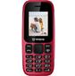 """IRBIS SF16,  1.77""""  (128x160),  cam 0, 08mpx,  2xSimCard,  Bluetooth,  microUSB,  MicroSD,  Red"""