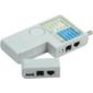 ITK Тестер для витой пары 4в1 RJ45 / RJ11 / BNC / USB с элем. пит.