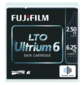 Fujifilm Ultrium LTO6 RW 6, 25TB  (2, 5Tb native) bar code labeled Cartridge  (for libraries & autoloaders)  (analog C7976A + Label)