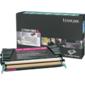 Тонер картридж Lexmark C736H1MG пурпурный для C73X / X73X  (10 000 стр)