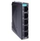 Компактный 5-портовый неуправляемый коммутатор 10 / 100 BaseT (X) Ethernet,  QoS,  в металлическом корпусе,  -10...+60C