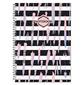 Тетрадь Полином Стильный Офис 2731 A4 ламин.картон 120л клетка гребень ассорти