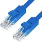 Greenconnect GCR-LNC01-0.5m,  Патч-корд прямой 0.5m,  UTP кат.5e,  синий,  позолоченные контакты,  24 AWG,  литой,   ethernet high speed 1 Гбит / с,  RJ45,  T568B