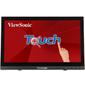 "Viewsonic 15.6"" TD1630-3 Touch LED,  1366x768,  12ms,  220-190cd / m2,  10Mln:1,  90° / 60°,  VGA,  HDMI,  USB,  колонки,  Tilt,  VESA (75x75),  Black"