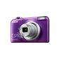 Фотоаппарат цифровой Nikon A10 фиолетовый с рисунком,  16Mpx CCD,  zoom 5x,  HD720,  экран 2.6'',  2xAA