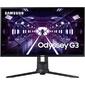 "Samsung 27"" F27G33TFWI VA LED изогнутый GAMING-монитор Odyssey G3 1920x1080 1ms 4000:1 250cd 178 / 178 D-Sub HDMI DP 144Hz AMD FreeSync Premium HAS Pivot Swivel Tilt Black"
