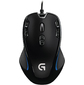 Logitech G300S Optical Gaming Mouse  (910-004345)  (2500dpi,  USB,  9 btn+Roll) Retail
