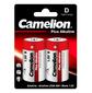 Camelion..LR20 Plus Alkaline BL-2  (LR20-BP2,  батарейка, 1.5В)
