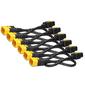 Power Cord Kit  (6 pack),  Locking,  IEC 320 C19 to IEC 320 C20,  16A,  208 / 230V,  1.2m